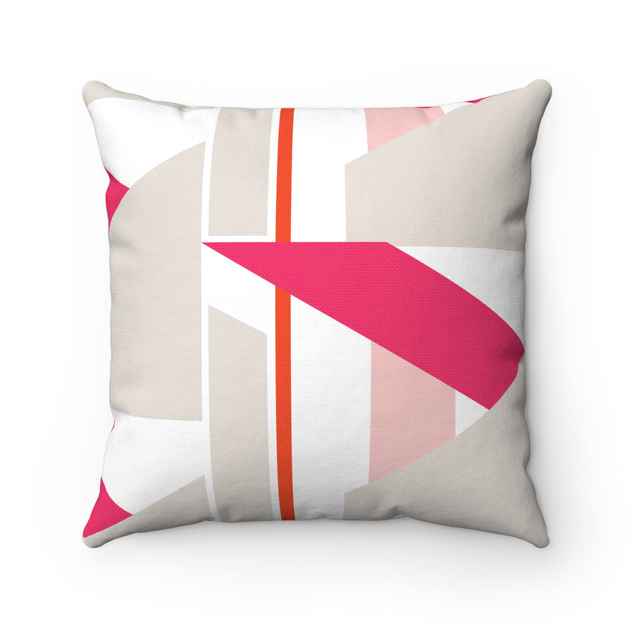 45 Degrees Spun Polyester Square Pillow Case