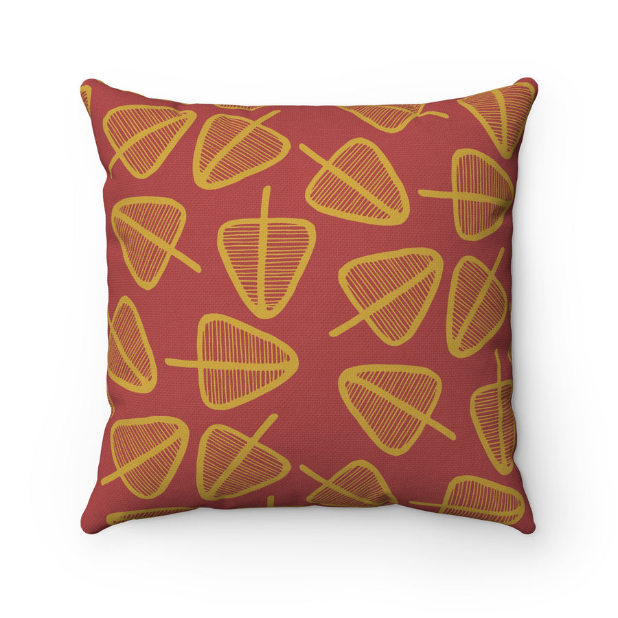 Cone Trees Square Pillow
