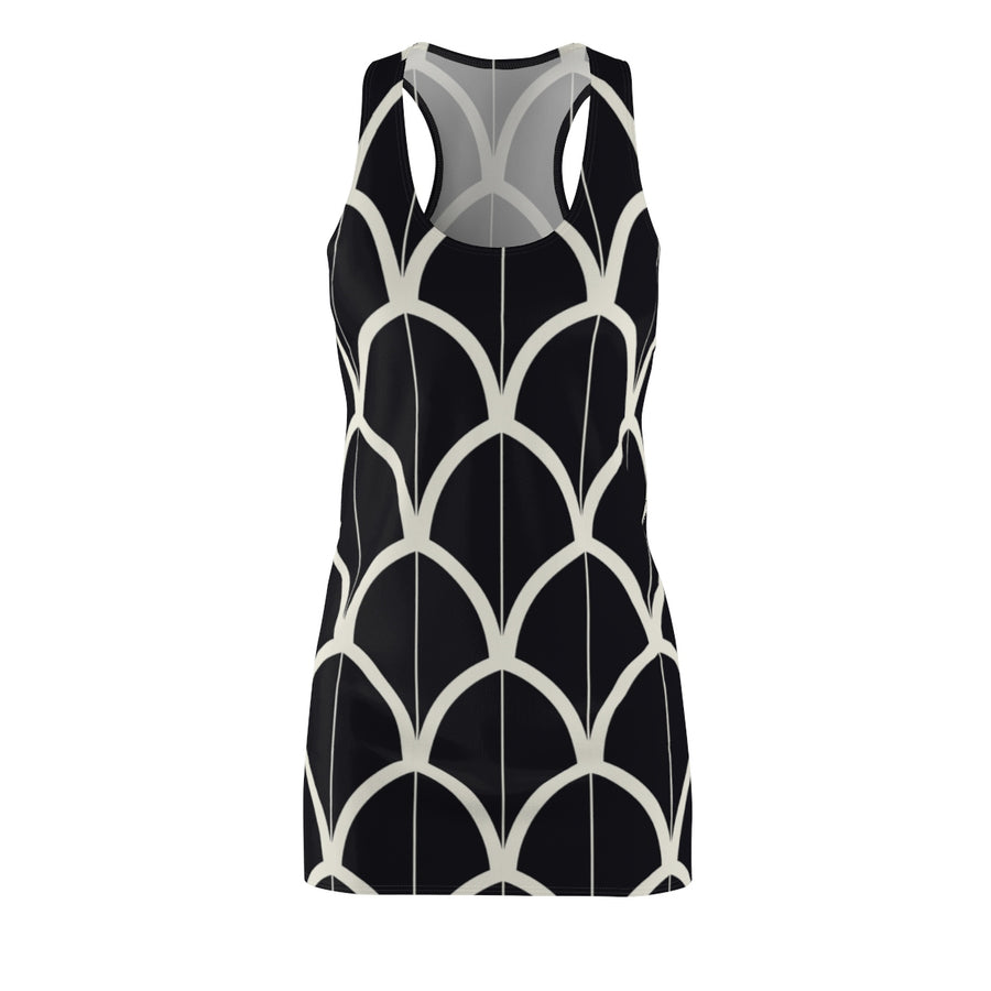 Divisive Scales Racerback Dress