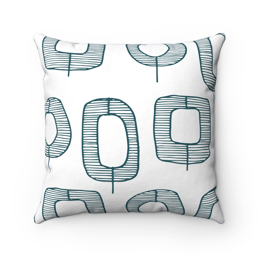 Funky O' Trees Square Pillow