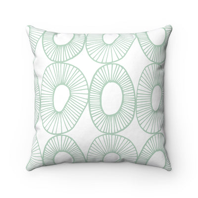 Just Like Kiwi Spun Polyester Square Pillow Case - Design Prints