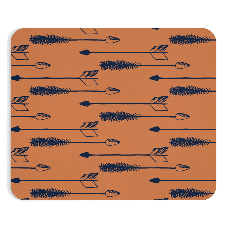 Tawny Arrows Mousepad - Design Prints