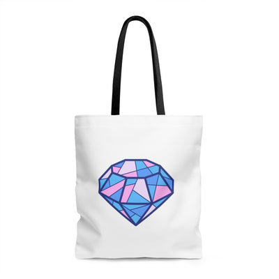 Diamond AOP Tote Bag - Design Prints