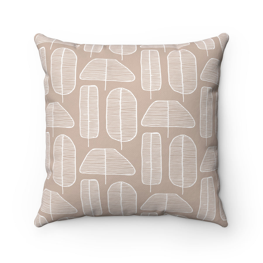 Funky Forest Spun Polyester Square Pillow Case
