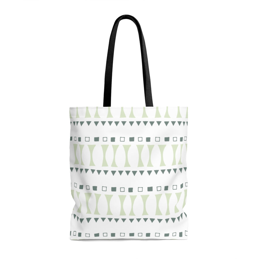 Triangle & Square AOP Tote Bag