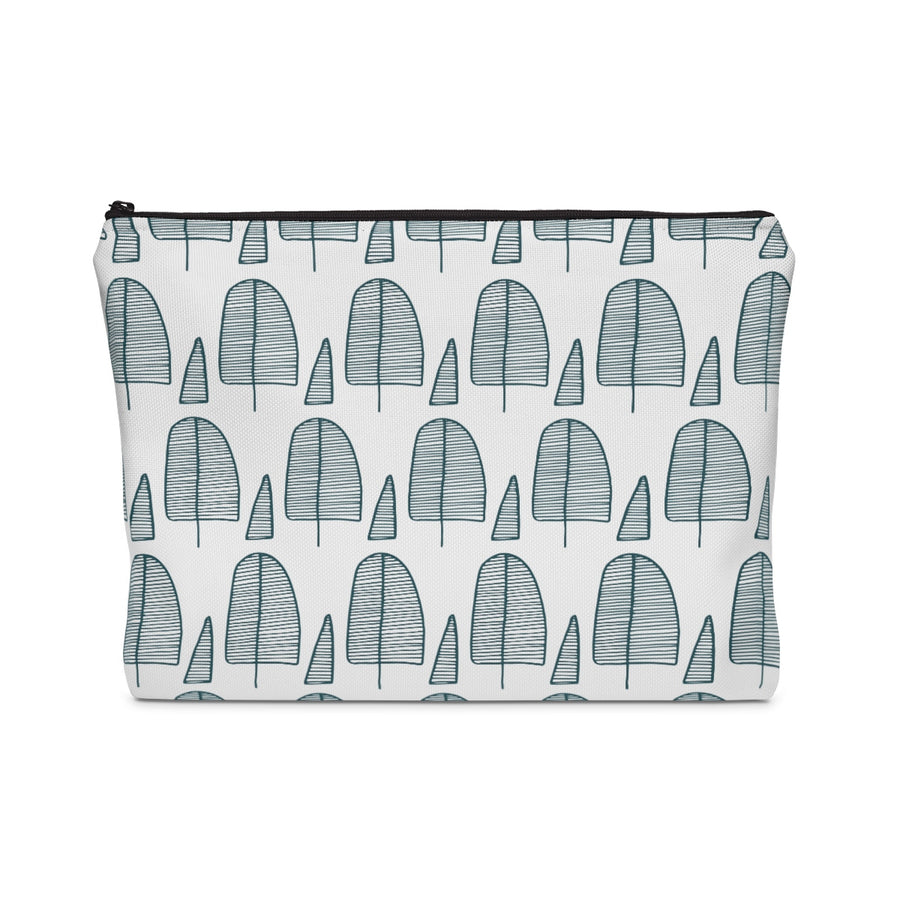 Squoval Trees Carry All Pouch - Design Prints