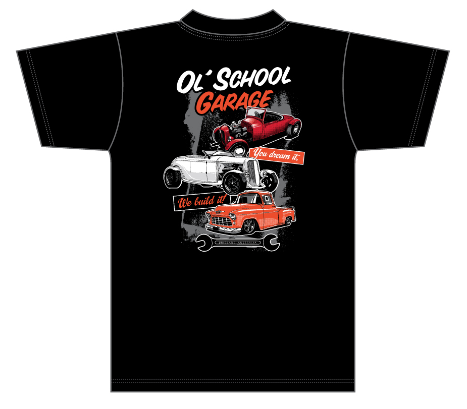 OSG Three Car Stack T-Shirt