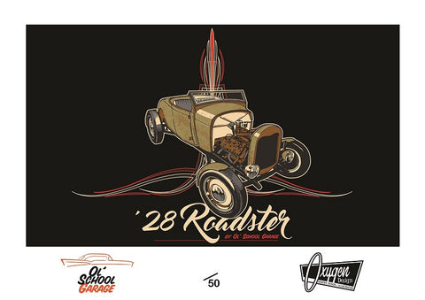 28 Roadster Limited Edition Print