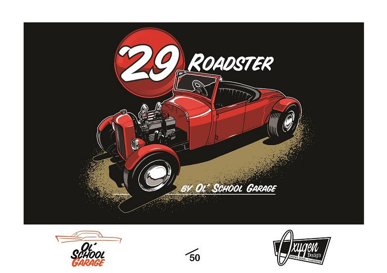 29 Roadster Limited Edition Print