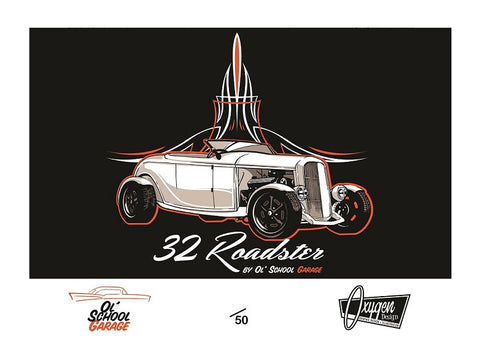 32 Roadster Limited Edition Print
