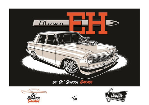 Blown EH Limited Edition Print