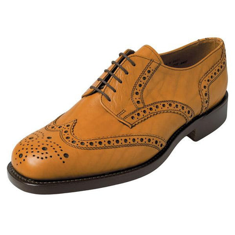 Hoggs of Fife Stirling Brogue Shoe - Bench-Made - Men's
