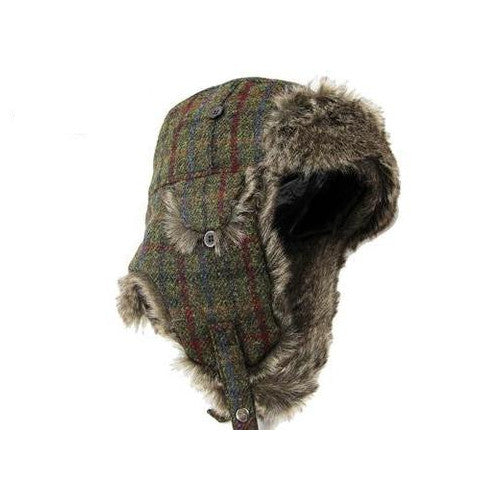 Failsworth Harris Tweed Trapper Hat