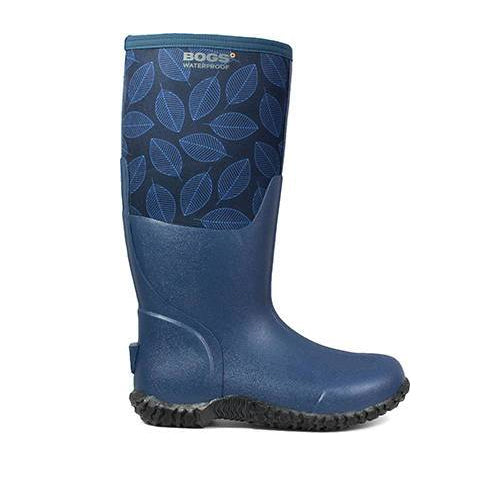 Bogs Carver Leafy Wellington Boot - Ladies