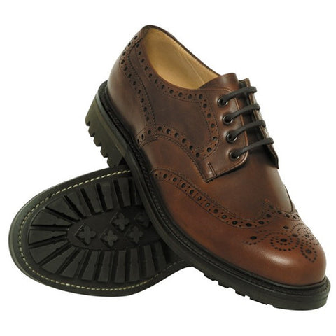 Hoggs of Fife Glengarry Bench-Made Shoes - Men's