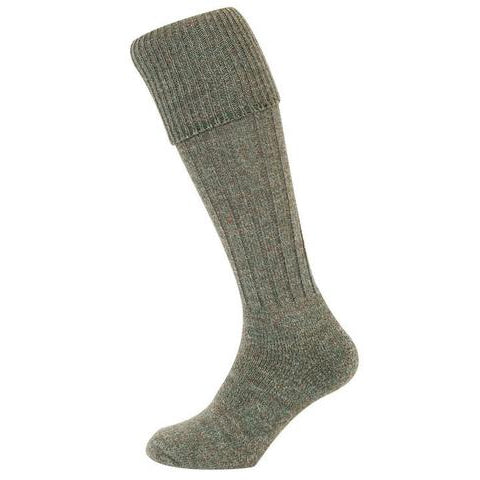 Hoggs of Fife Country Ribbed Knit Stockings