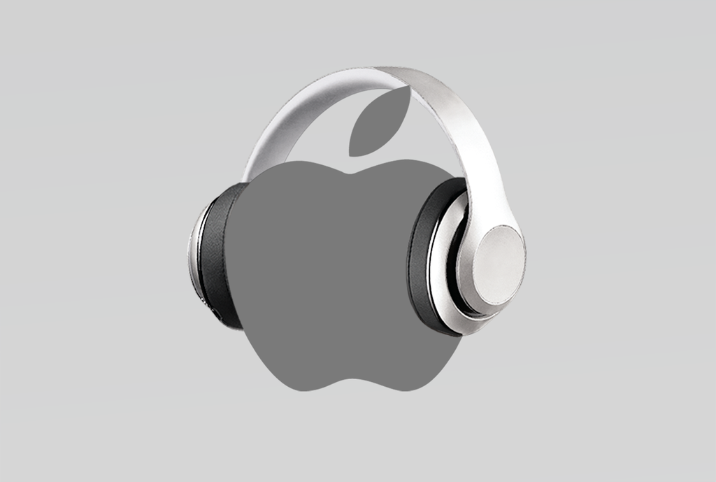 Silver Headphones