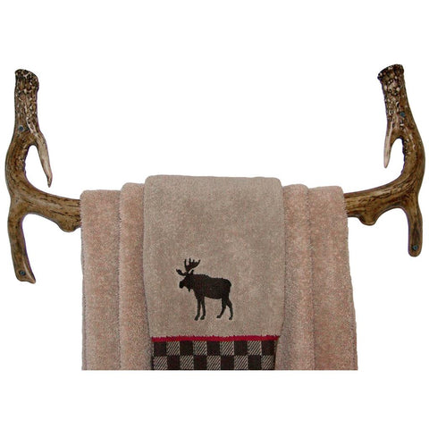 Mountain Mikes Bath Towel Rack