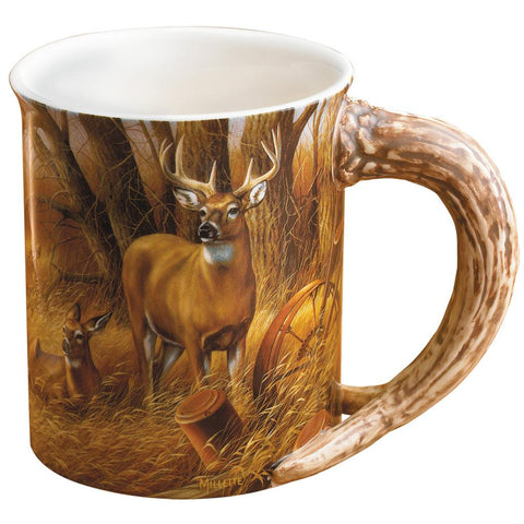 Wild Wings Sculpted Mug Rustic Retreat