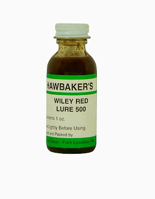 Hawbaker's Wiley Red Lure 500 (1 oz.)