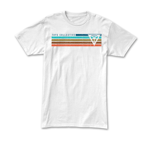 Flagged Tee - White