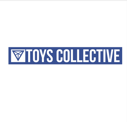 TOY BOX - STICKER, BLUE