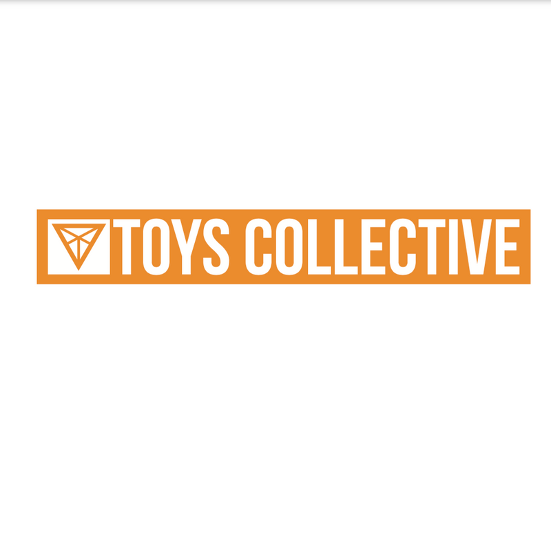 TOY BOX - STICKER, ORANGE