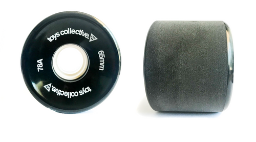 Cruiser Skateboard Wheels - Black