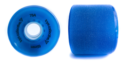 Cruiser Skateboard Wheels - Blue