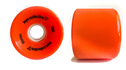 Cruiser Skateboard Wheels - Orange