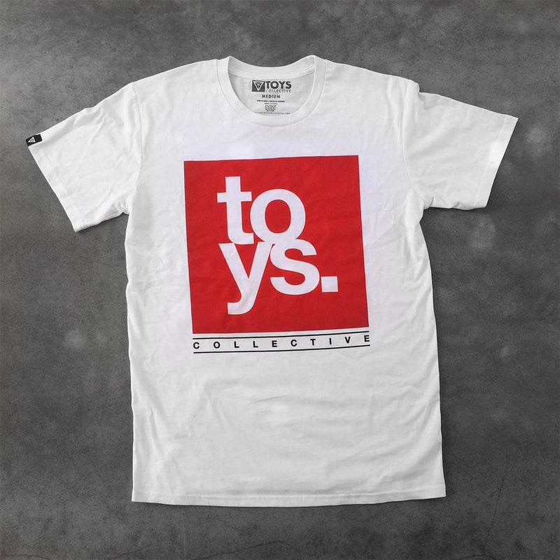 Knock Out Tee - White