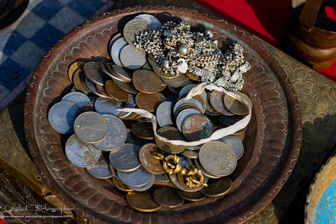 Old metal coins sale, Nepal