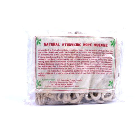 Natural Ayurvedic Rope Incense - ThirdWorldTrAid