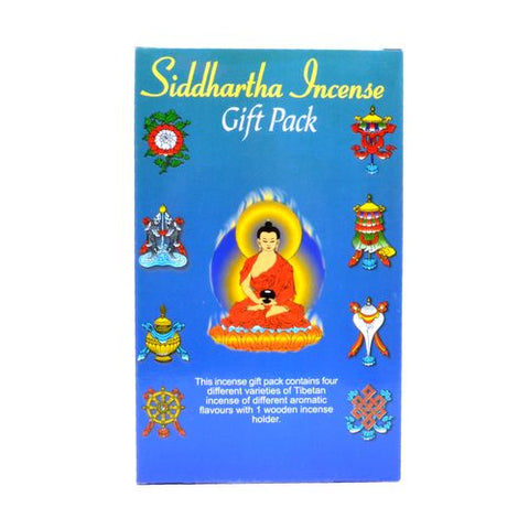 Siddartha Gift Tibetan Incense - ThirdWorldTrAid