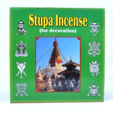 Decorative Stupa Incense - ThirdWorldTrAid