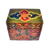 Hand Painted Wooden Incense Trinket Box - ThirdWorldTrAid
