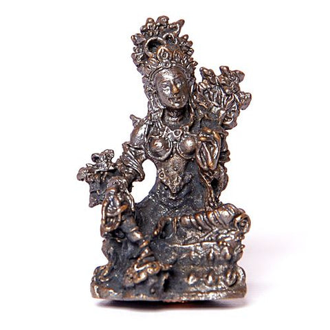 Tiny Buddhist Statue of Tara - ThirdWorldTrAid