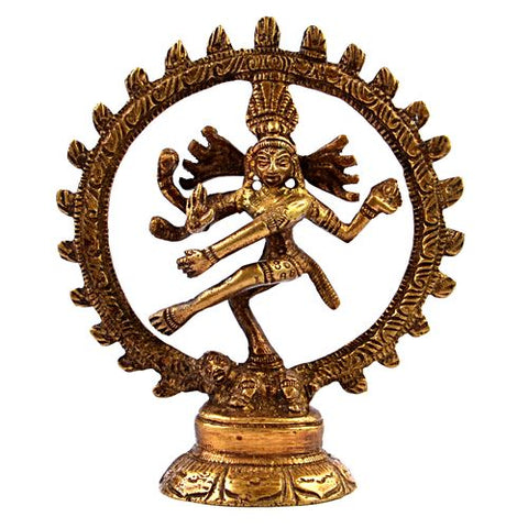 Small Statue of Hindu God Dancing Shiva Natraja - ThirdWorldTrAid