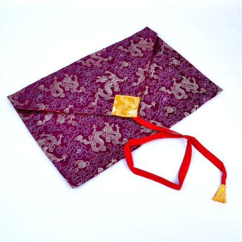 Buddhist Envelope Book Cover - Purple - ThirdWorldTrAid