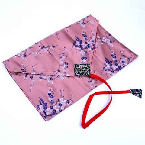 Buddhist Envelope Book Cover - Light Pink - ThirdWorldTrAid