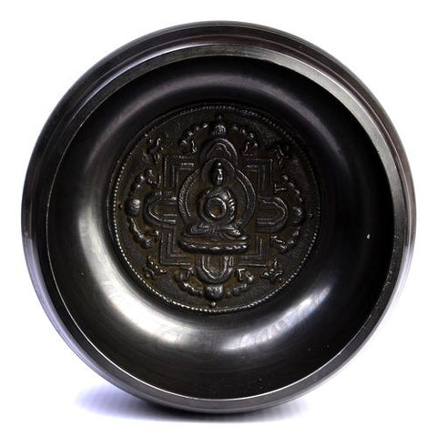 Large Tibetan Buddhist Singing Bowl & Stick - ThirdWorldTrAid