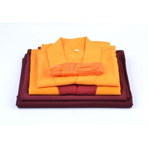 Buddhist Monks Robes - Lama Dress Medium - ThirdWorldTrAid