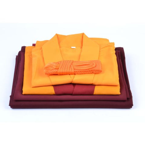 Buddhist Monks Robes - Lama Dress Extra Large - ThirdWorldTrAid