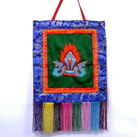 Small Tibetan Ratna Banner Wall Hanging - ThirdWorldTrAid