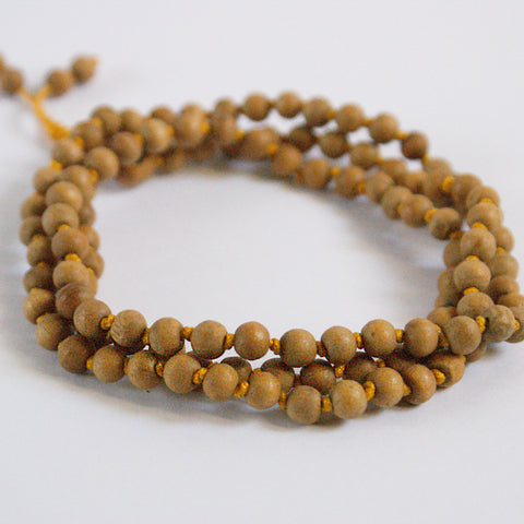 Wooden Knotted 108 Mala Beads 6mm with Tassel - ThirdWorldTrAid