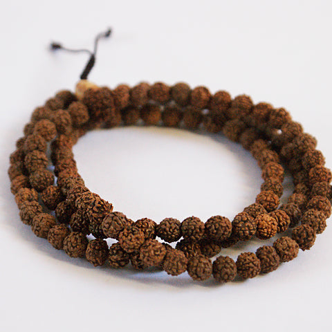Rudraksha Seeds 108 Mala Beads - ThirdWorldTrAid