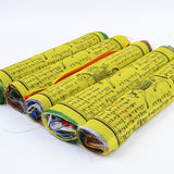 Tibetan Buddhist Prayer Flags Medium Pack of 5 - ThirdWorldTrAid