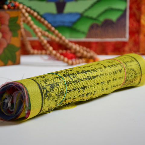 Tibetan Buddhist Prayer Flags Medium Size - ThirdWorldTrAid