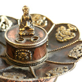 Tibetan Buddhist Tea-Light Incense Burner - ThirdWorldTrAid