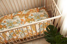 Tropicana Bamboo and Organic Cotton Cot Sheet - Coming Soon